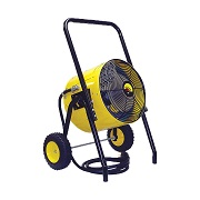 Heater, fan and blower rentals in North Central Montana